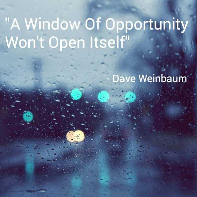 Oppertunity Window