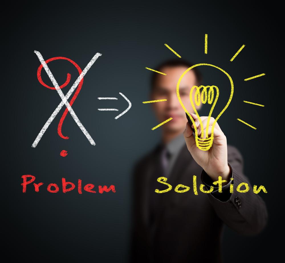 حل المشاكل